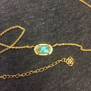 Turquoise Kendra Scott necklace
